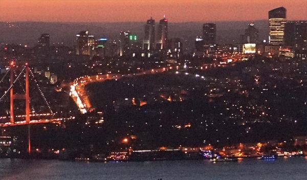 Bildausschnitt Istanbul Panorama