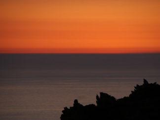 Sardinien Sonnenuntergang