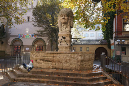 Indianerbrunnen Hahn